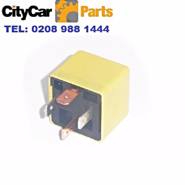 MG ROVER 200 45 25 75 LAND ROVER YELLOW RELAY MULTI PURPOSE YWB000410 4 PINS